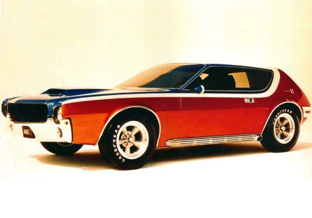 Fiche technique American Motors AMX GT (1968)