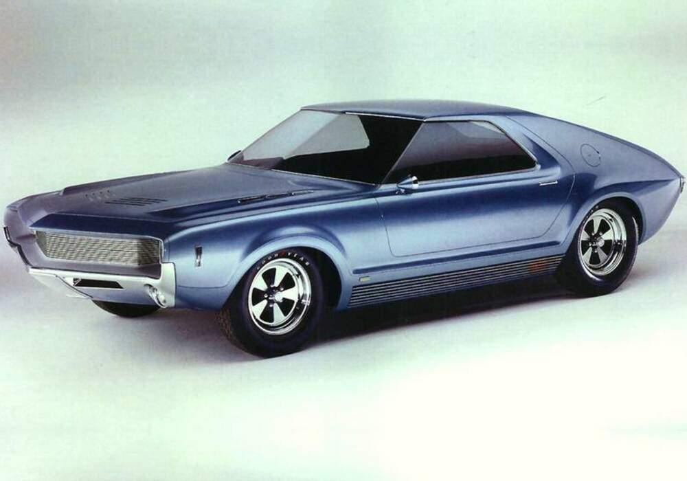 Fiche technique American Motors AMX Prototype (1966)