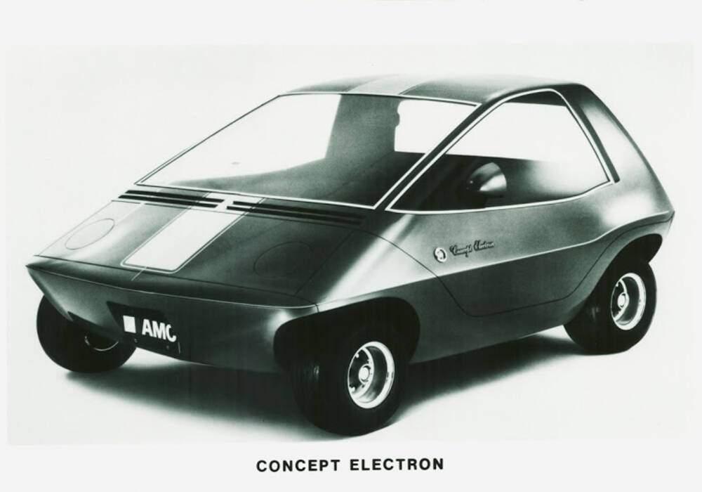 Fiche technique American Motors Amitron (1967)
