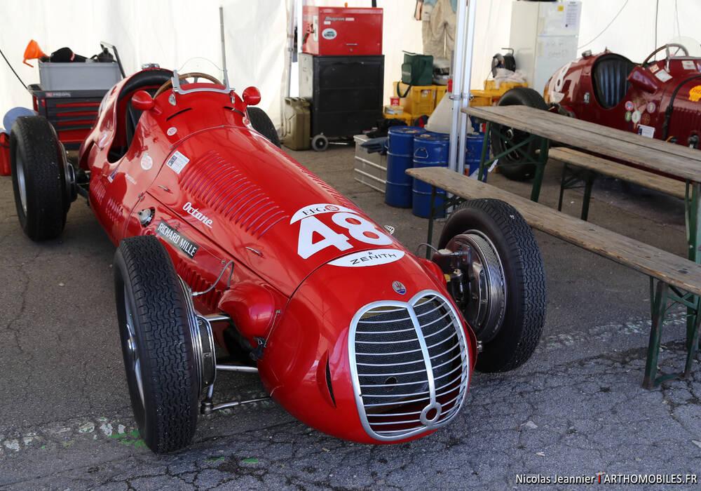 Fiche technique Maserati 4CLT/48 (1948-1950)