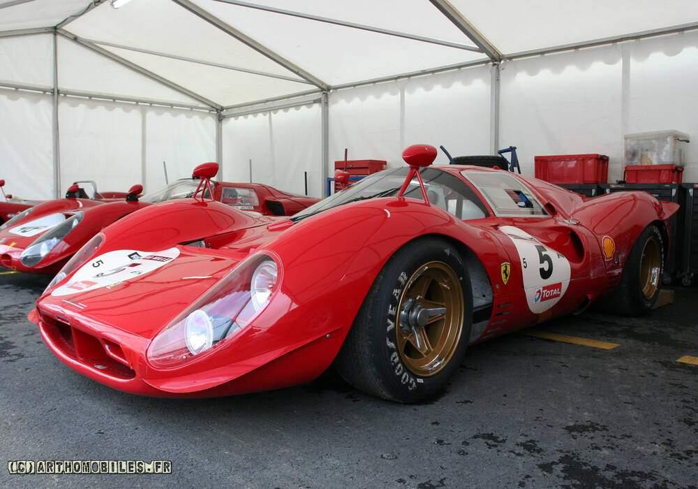 Fiche technique Ferrari 330 P3 (1966)