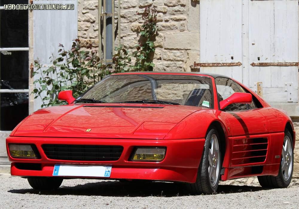 Fiche technique Ferrari 348 TS (1989-1993)