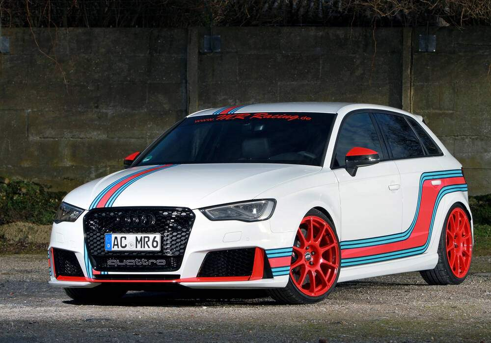 MR Racing Audi RS3, 535 chevaux