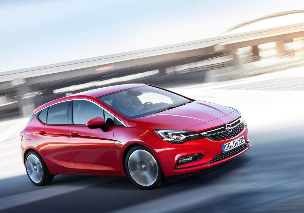 Fiche technique Opel Astra V 1.6 CDTi 135 (K) (2015-2018)