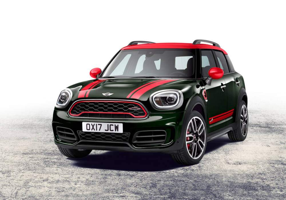 fiche technique mini countryman ii john cooper works 2017. Black Bedroom Furniture Sets. Home Design Ideas