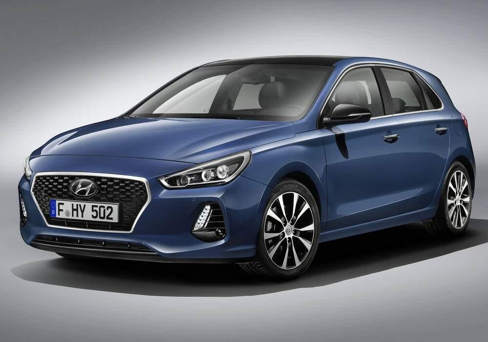 Fiche technique Hyundai i30 III 1.0 T-GDi 120 (PD) (2017)