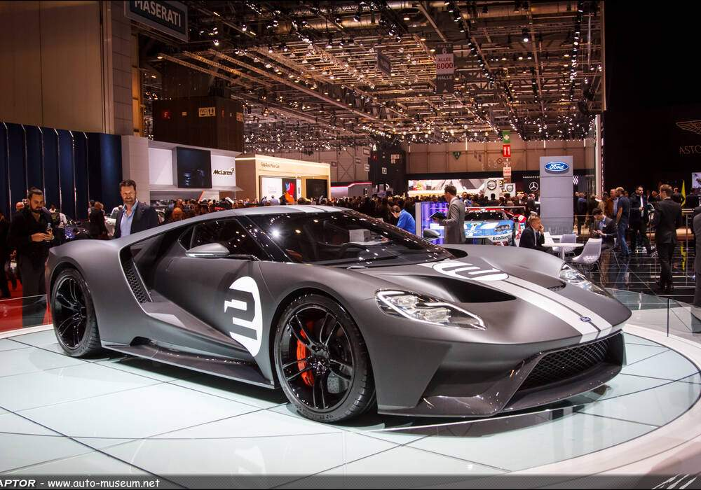 Genève 2017 : Ford GT 66 Heritage Edition