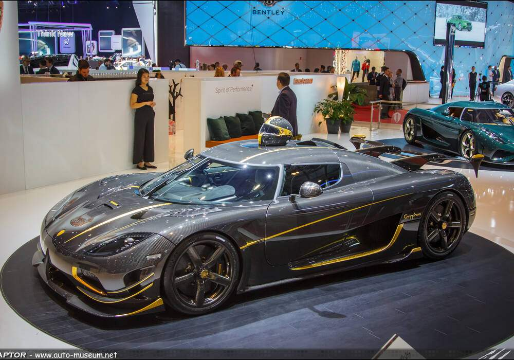 Genève 2017 : Koenigsegg Agera RS 'Gryphon'