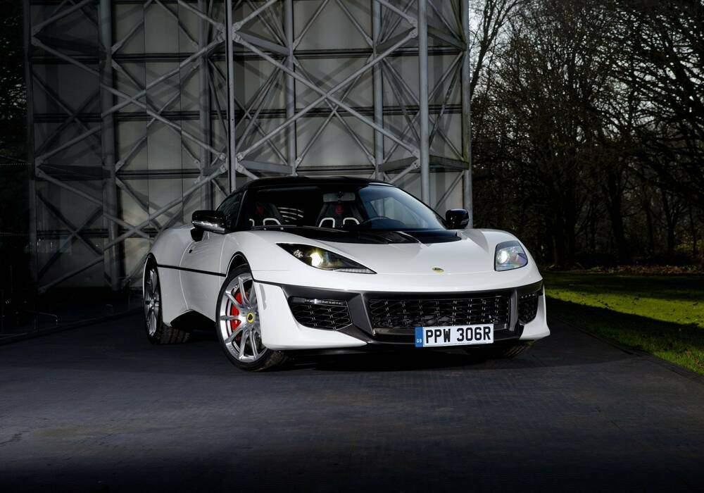 Fiche technique Lotus Evora Sport 410 « Esprit S1 Edition » (2017)