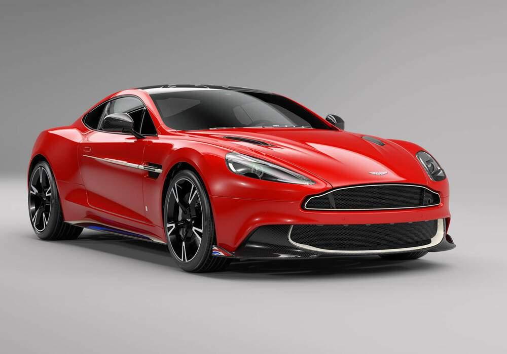 Aston Martin Vanquish S Red Arrows, 10 exemplaires
