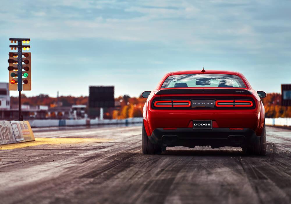 Dodge Challenger SRT Demon, toutes les photos et vidéos