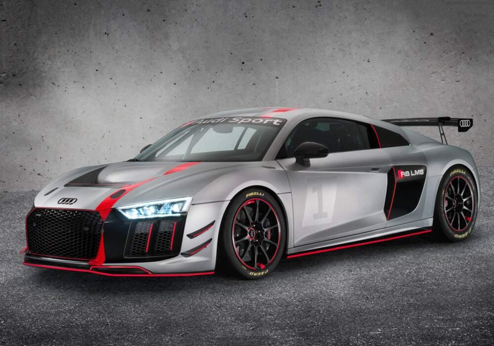 Audi R8 LMS GT4, par Audi Sport