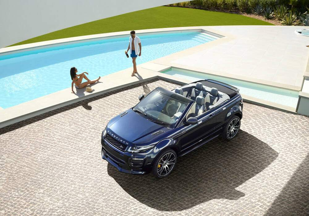 Overfinch tune le Range Rover Evoque Cabriolet