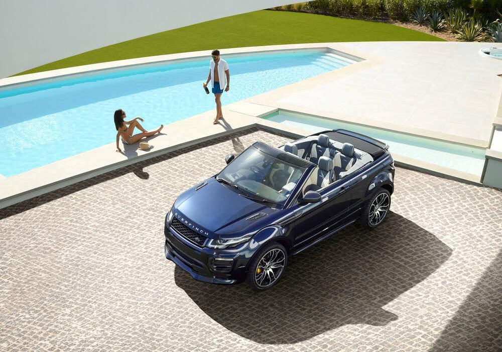 Overfinch tune le Range Rover Evoque Cabriolet