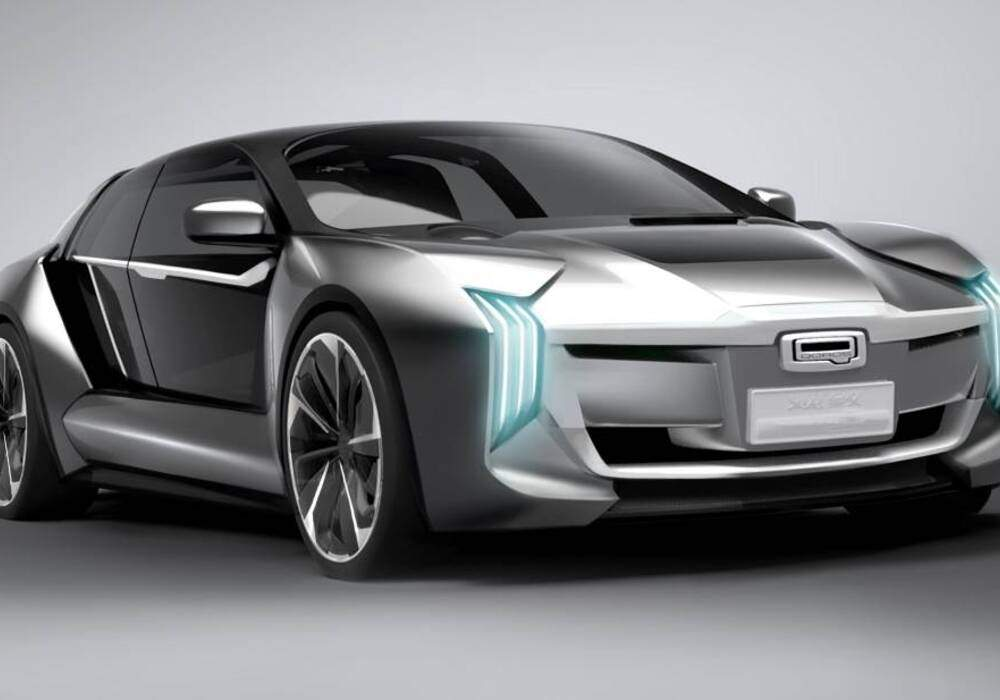 Fiche technique Qoros Model K-EV Concept (2017)