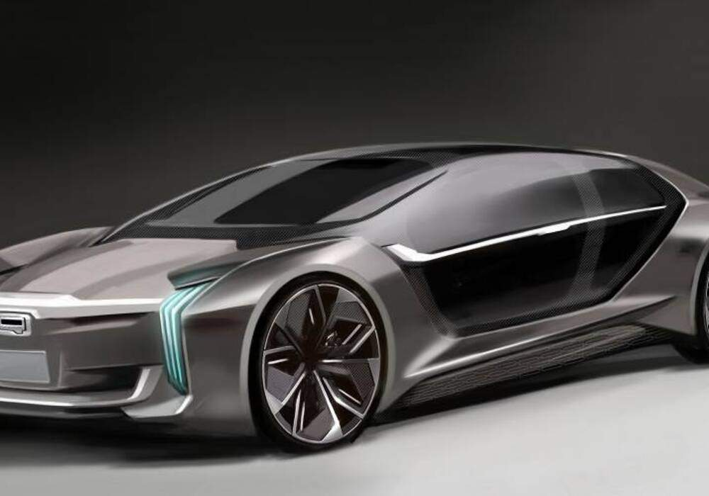 Qoros Model K-EV, en collaboration avec Koenigsegg