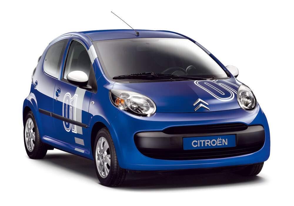 Fiche technique Citroën C1 1.0 « Chrono » (2006)