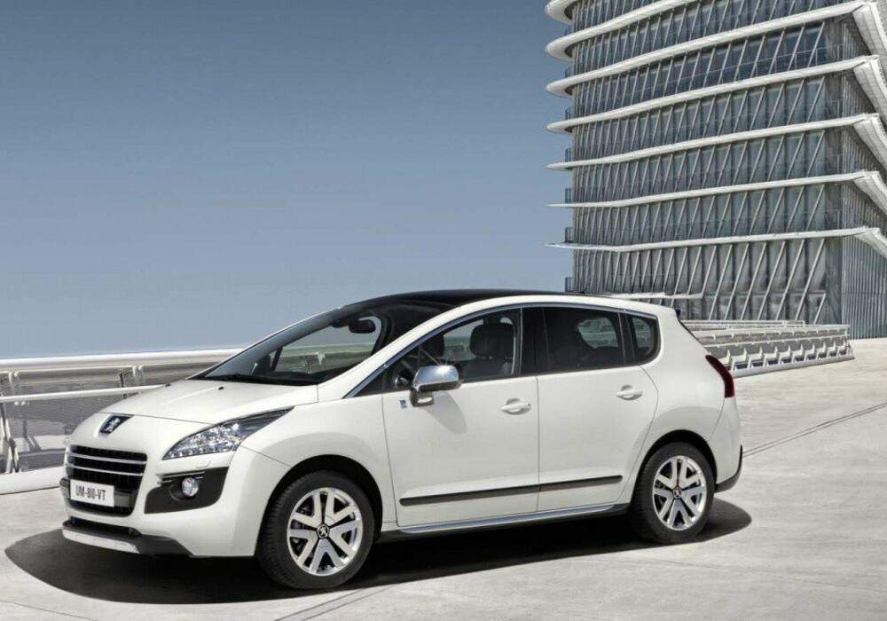 Fiche technique Peugeot 3008 Hybrid4 « Limited Edition » (2011)
