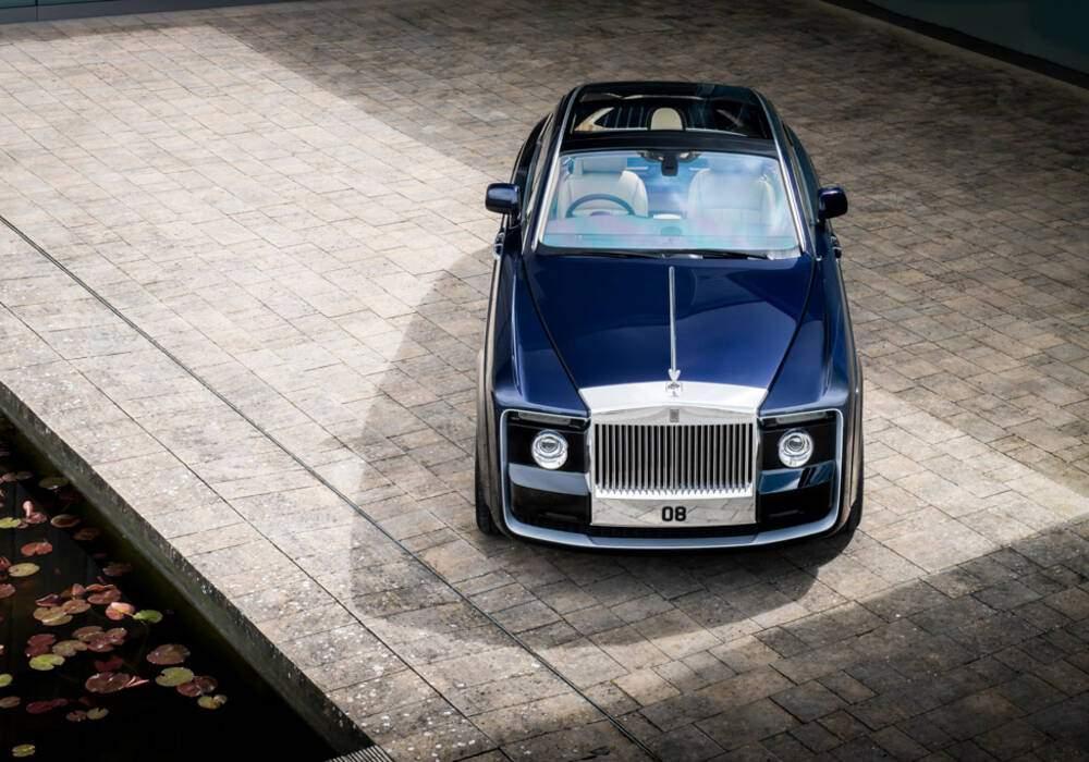 Fiche technique Rolls-Royce Sweptail (2017)