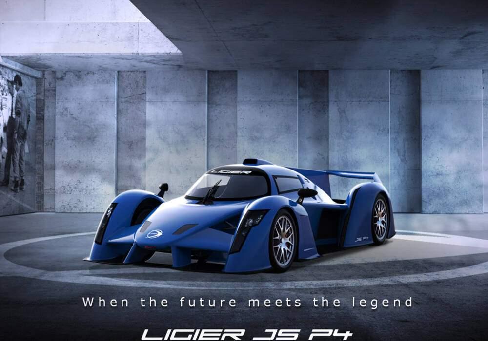Fiche technique Ligier JS P4 (2018)