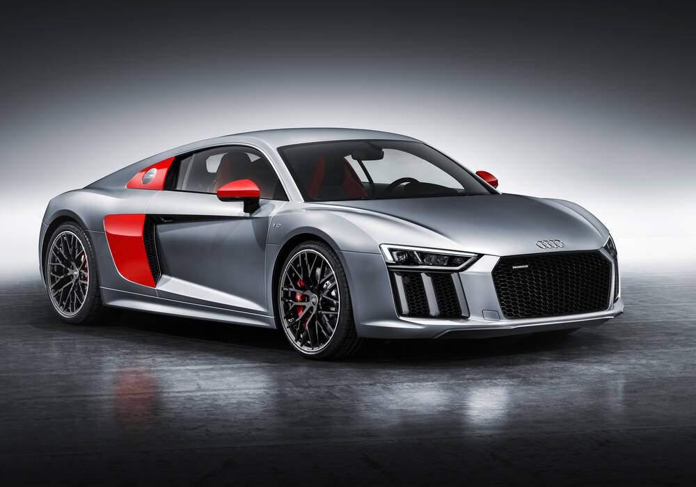 Fiche technique Audi R8 II V10 « Sport Edition » (2017)