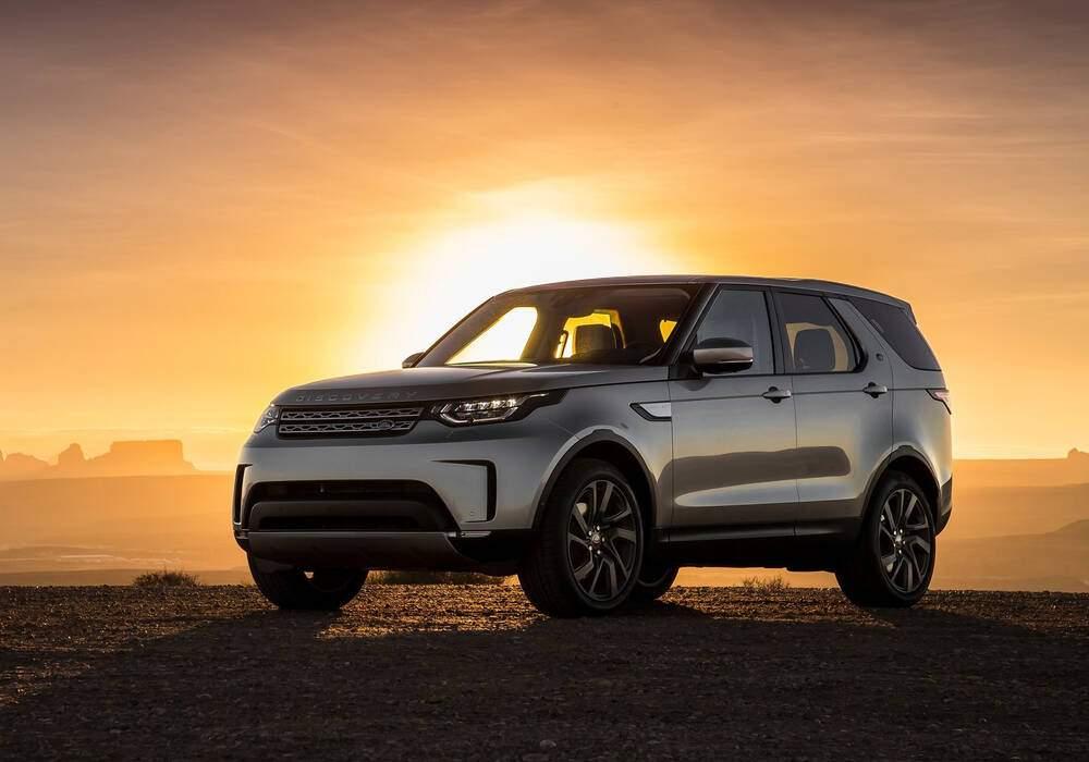 Fiche technique Land Rover Discovery V 2.0 SD4 240 (2016)