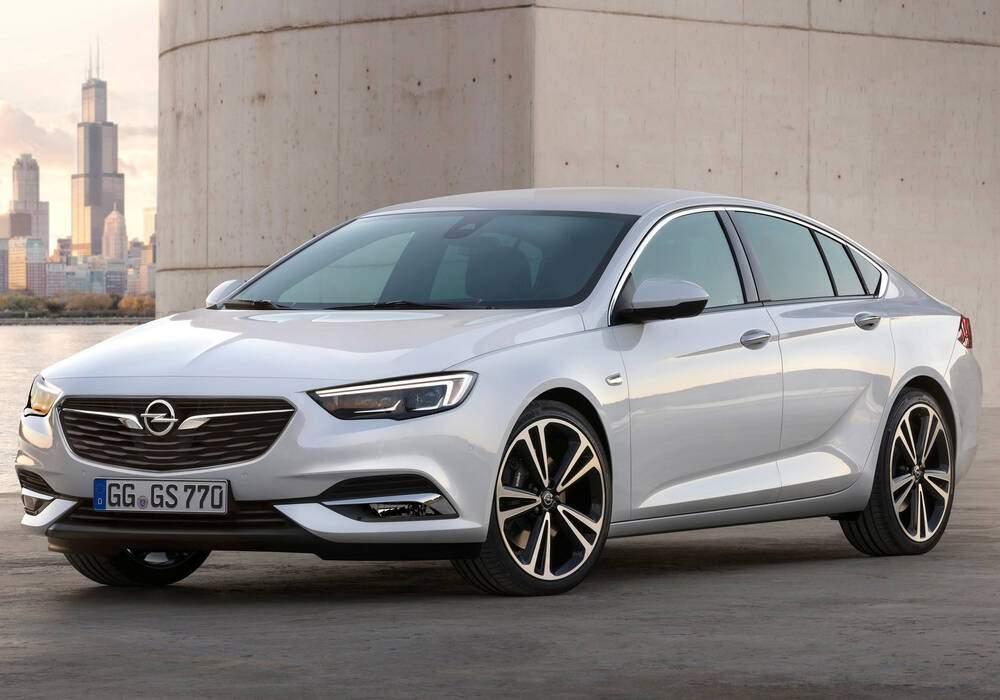 Fiche technique Opel Insignia II Grand Sport 1.5 Turbo 165 (B) (2017)