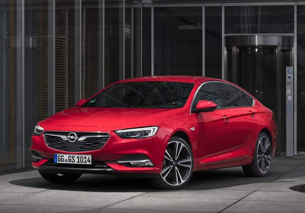 Fiche technique Opel Insignia II Grand Sport 1.6 Turbo D 135 (B) (2017)