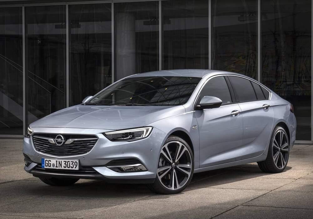 Fiche technique Opel Insignia II Grand Sport 2.0 Turbo D 170 (2017)