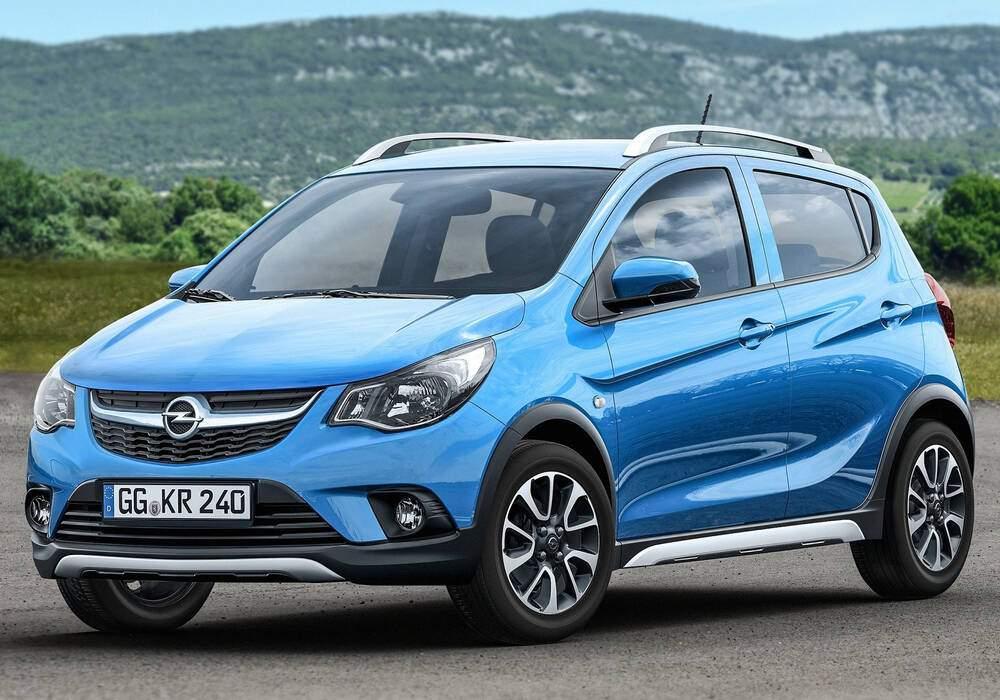 Fiche technique Opel Karl Rocks 1.0 (2016)