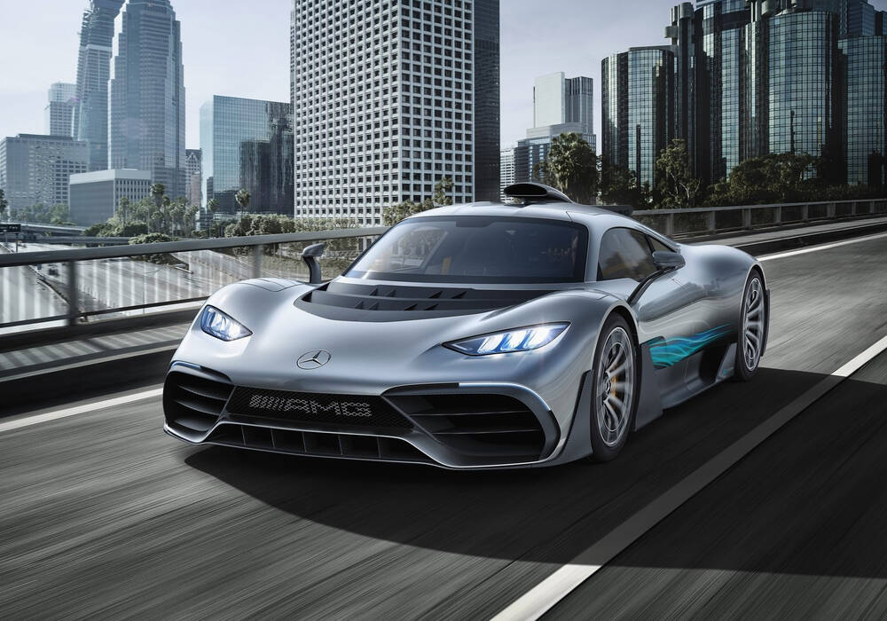 Fiche technique Mercedes-AMG Project ONE Concept (2017)