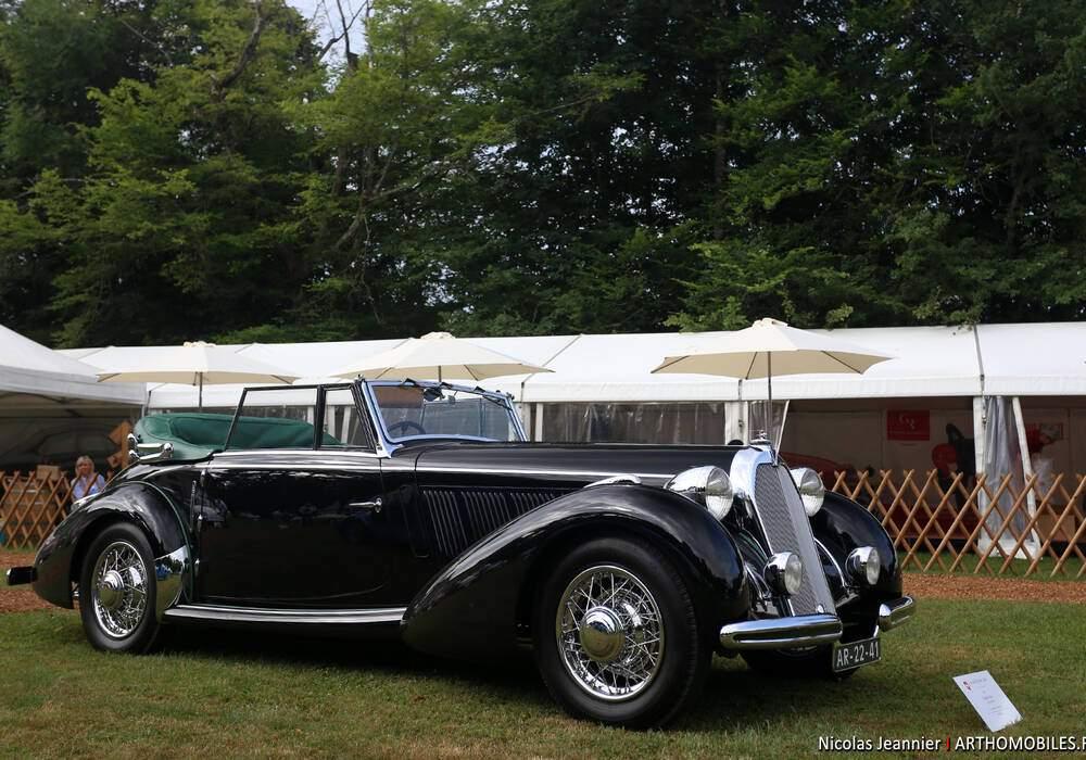 Fiche technique Talbot Lago T120 (1935-1939)