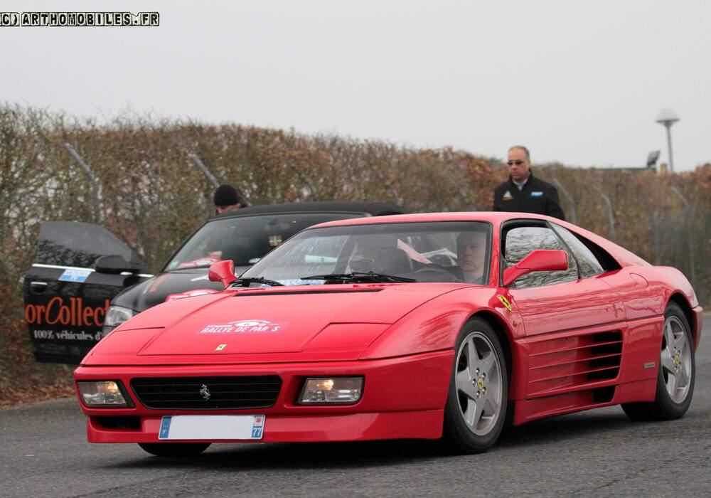 Fiche technique Ferrari 348 GTB (1993-1994)