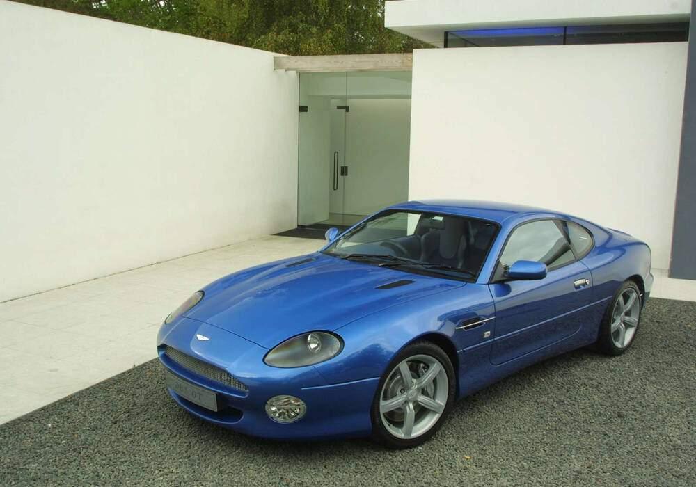 Fiche technique Aston Martin DB7 GT (2003-2004)
