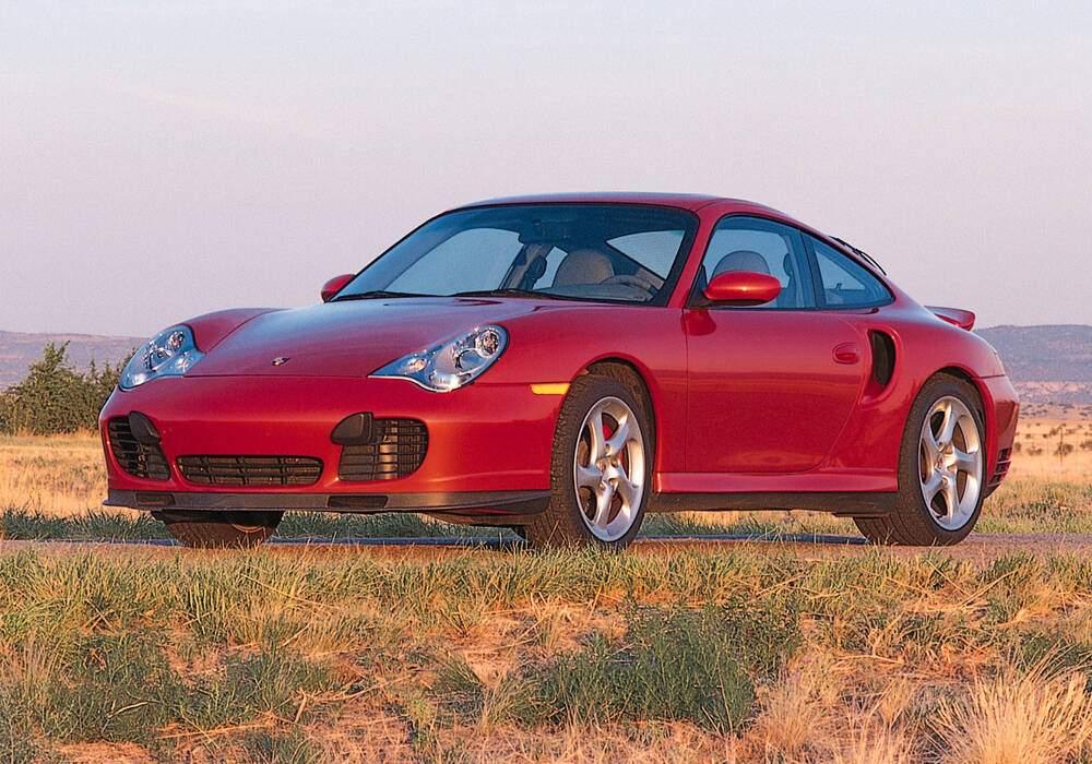 Fiche technique Porsche 911 Turbo (996) (2000-2004)