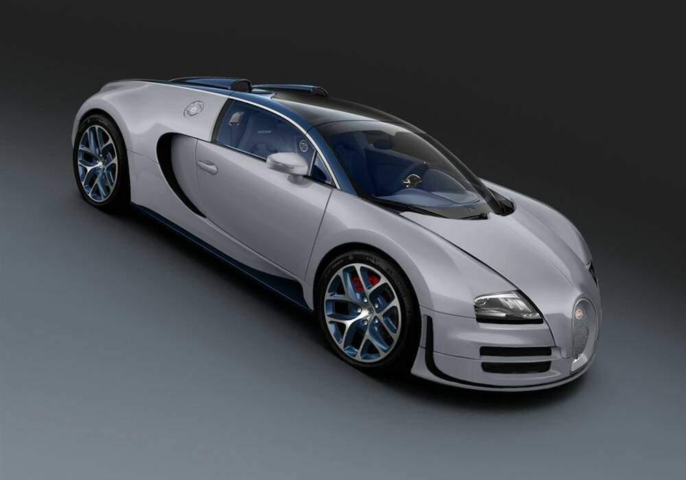 Fiche technique Bugatti EB 16.4 Veyron Grand Sport Vitesse « Rafale » (2013)