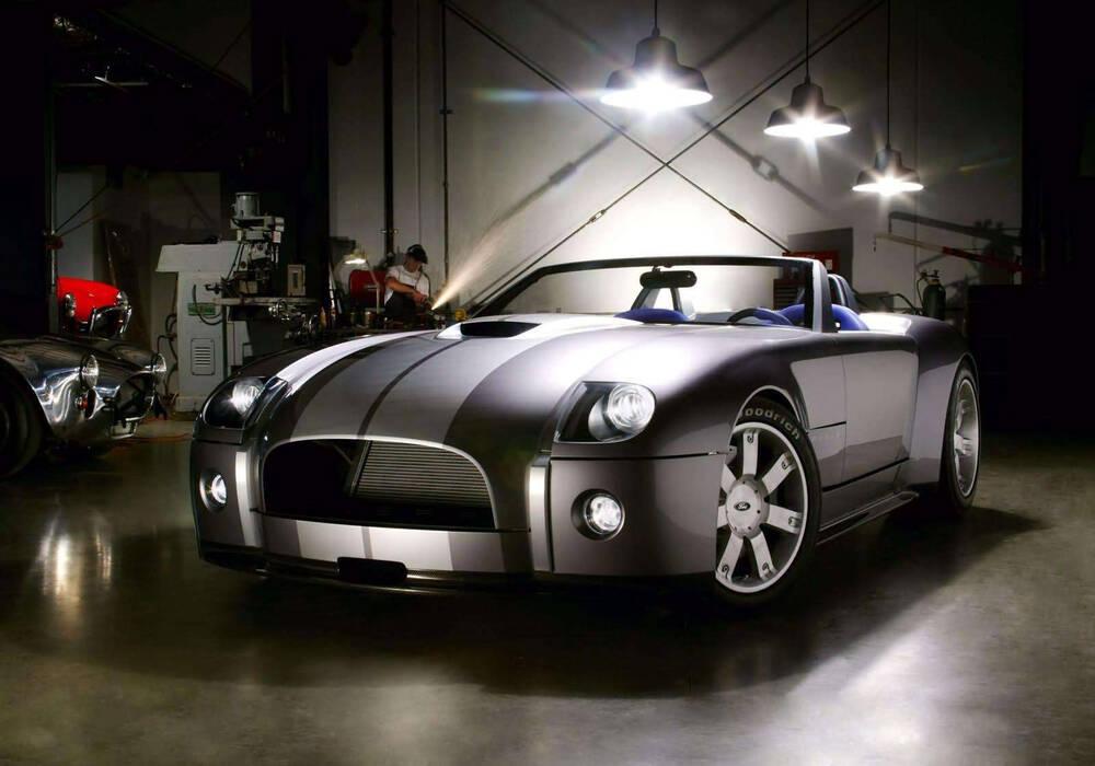 Fiche technique Ford Shelby Cobra Concept (2004)