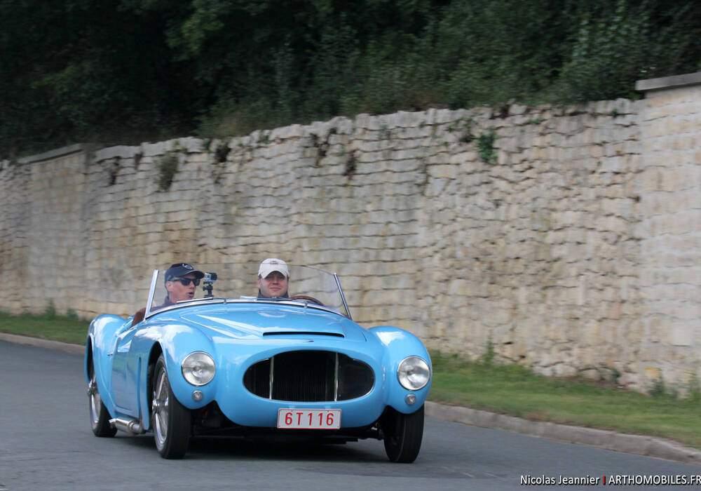 Fiche technique Moretti 1200 S Barchetta (1954-1955)