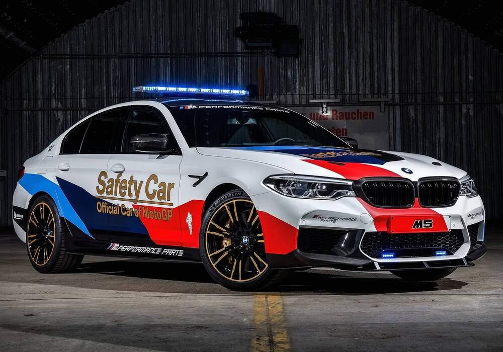 Fiche technique BMW M5 (F90) « MotoGP Safety Car » (2018)