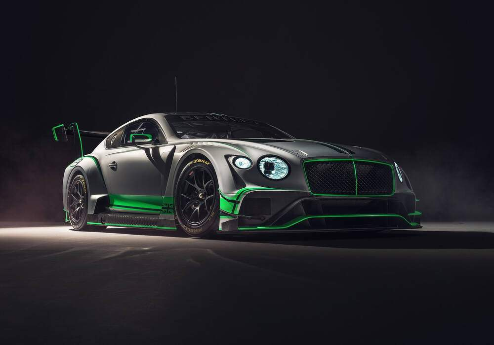Fiche technique Bentley Continental GT3 (2018)