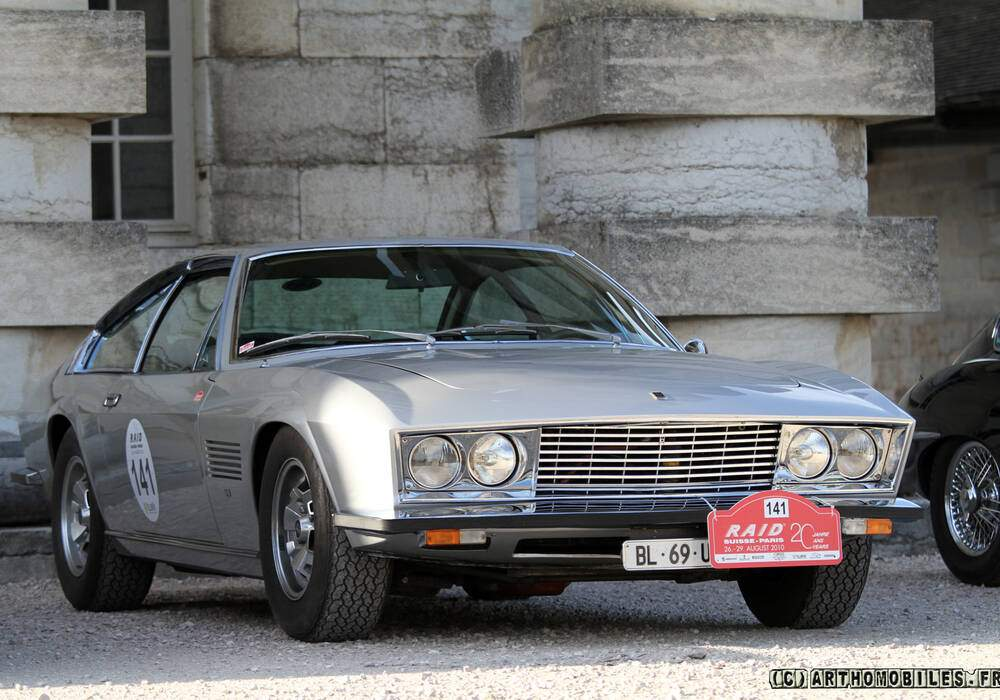 Fiche technique Monteverdi 375 L High Speed (1968)
