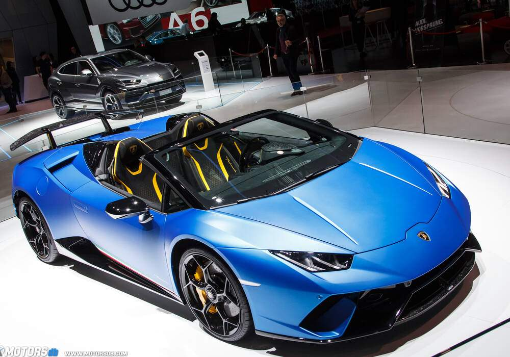 Genève 2018 : Lamborghini Huracán Performante Spyder