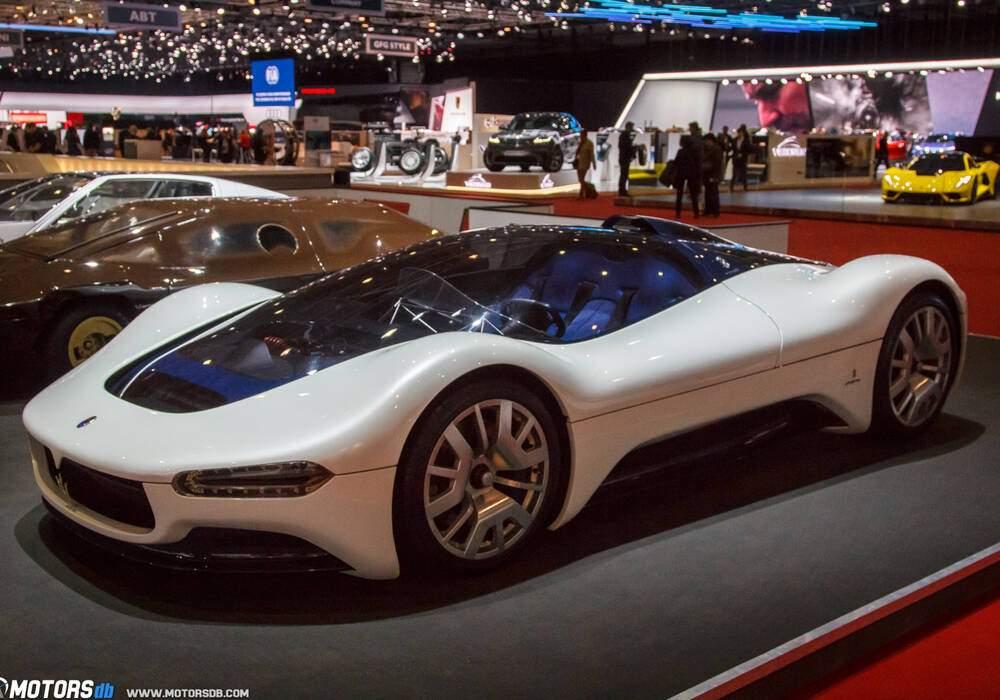 Genève 2018 : Maserati 75th Birdcage
