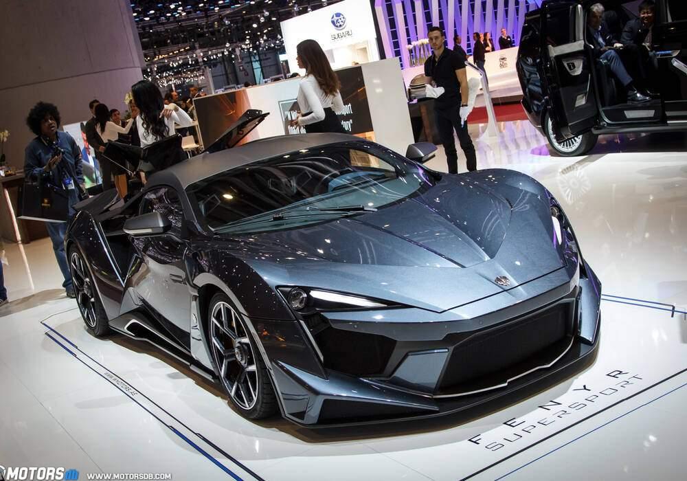 Genève 2018 : W Motors Fenyr SuperSport