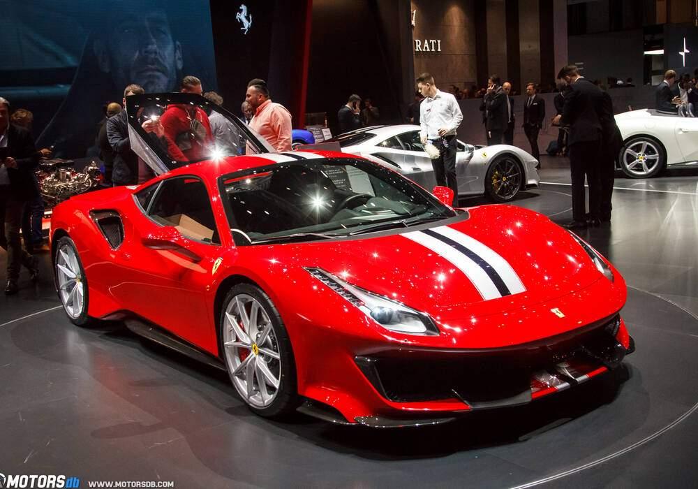 Genève 2018 : Ferrari 488 Pista
