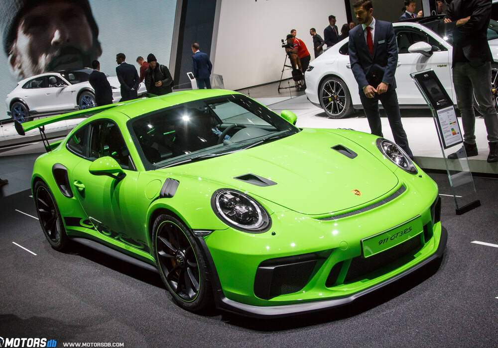 Genève 2018 : Porsche 911 GT3 RS