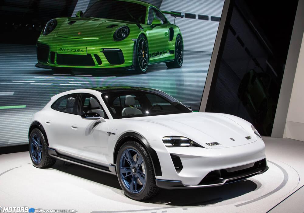 Genève 2018 : Porsche Mission E Cross Turismo