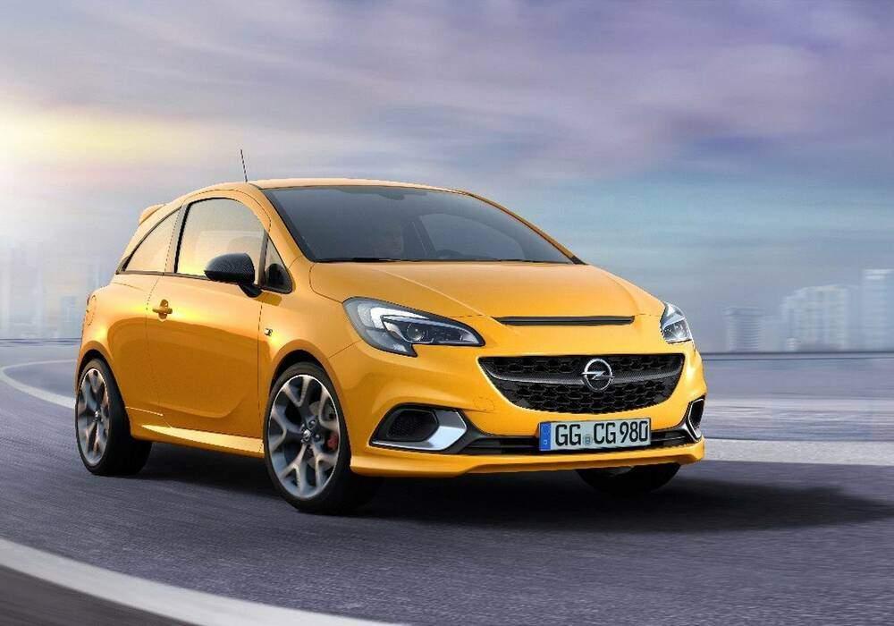 Fiche technique Opel Corsa V 1.4 Turbo 150 « GSi » (2018)