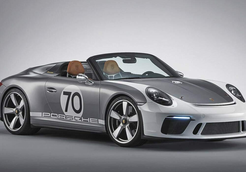Fiche technique Porsche 911 Speedster Concept (2018)