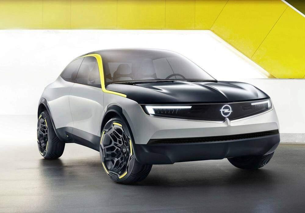 Fiche technique Opel GT X Experimental Concept (2018)